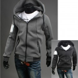 men's hoodie zip up armband neoplan