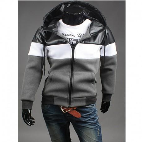 vyriški hoodie zip iki trigubo tvirtą NEOPLAN