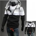 hoodie des hommes avec zip poches 3 voies ligne neoplan