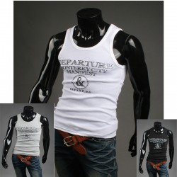 Miesten muskelipaita Monterey kaupungin paidat