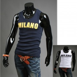 vīriešu tvertne top Milano krekli