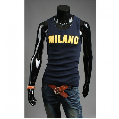 erkek tank top milano gömlek