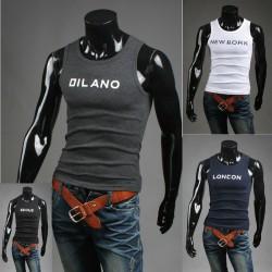 débardeur parodie nation de chemises pour hommes