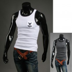men's tank top medal shirts