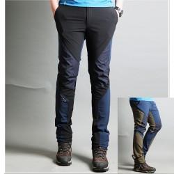 muške planinarske hlače solidan dizajn kvalitetne hi hlače