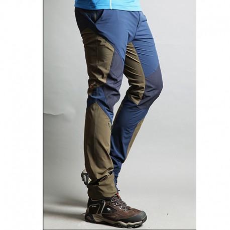 pantaloni da trekking uomini di disegno solido pantaloni di qualità hi