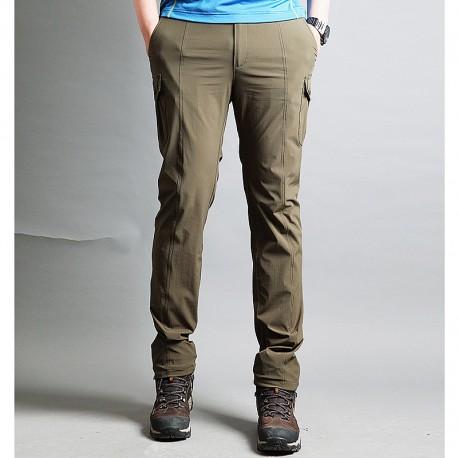 męskie spodnie cargo wędrowne bocznej kieszeni spodni