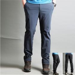 męskie spodnie na piesze wędrówki klasyczne spodnie